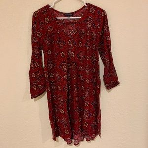 american eagle paisley dress